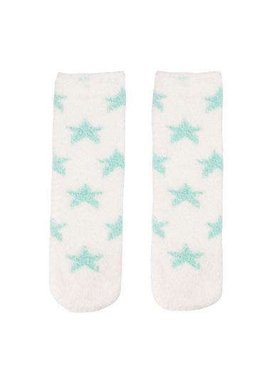 DeFacto Yumoş Çorap Mavi